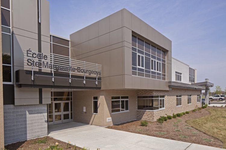 École élémentaire Sainte-Marguerite-Bourgeoys & École secondaire Notre-Dame